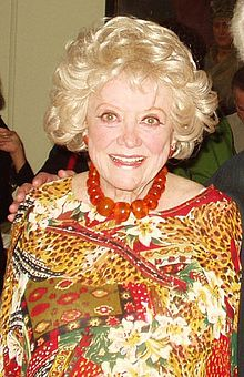 Phyllis Diller as i remember her.  Thanks for the memories, and the cheque.
