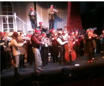 Picture: Oceanside Jammers in Concert, Qualicum Beach B.C.