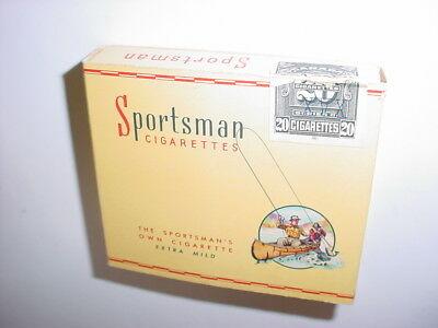 Sportsman cigarette box 1950
